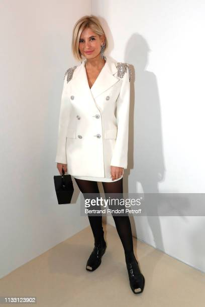 Xenia Adonis attends the LVMH Prize 2019 Edition at Louis Vuitton Avenue Montaigne Store on March 01 2019 in Paris France