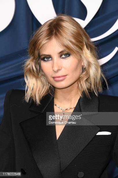 Xenia Adonts attends The Business Of Fashion Celebrates The #BoF500 2019 at Hotel de Ville on September 30, 2019 in Paris, France.