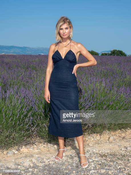 Xenia Adonts attends the Jacquemus Spring Summer 2020 show on June 24, 2019 in Valensole, France.