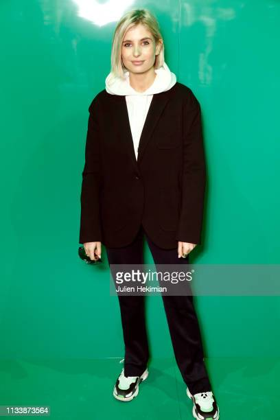 Xenia Adonts attends the Lacoste show as part of the Paris Fashion Week Womenswear Fall/Winter 2019/2020 on March 05 2019 in Paris France