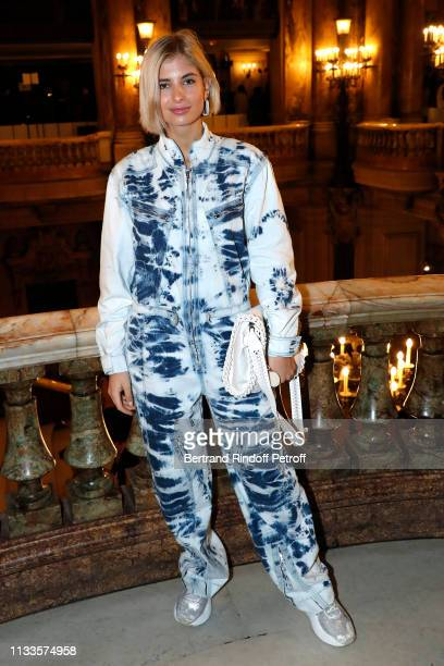 Xenia Adonts attends the Stella McCartney show as part of the Paris Fashion Week Womenswear Fall/Winter 2019/2020 on March 04 2019 in Paris France