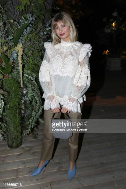 Xenia Adonts attends the Zimmermann : Cocktail - As part as Paris Fashion Week, Womenswear Spring Summer 2020. Held at Apicius on September 23, 2019...