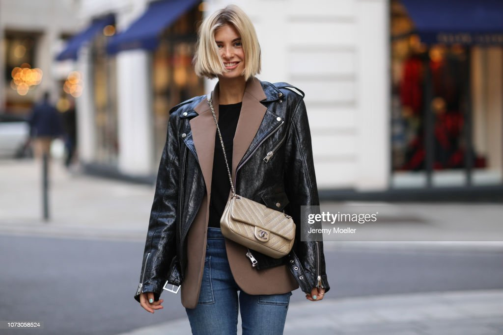 Street Style - Hamburg - November 26, 2018 : News Photo