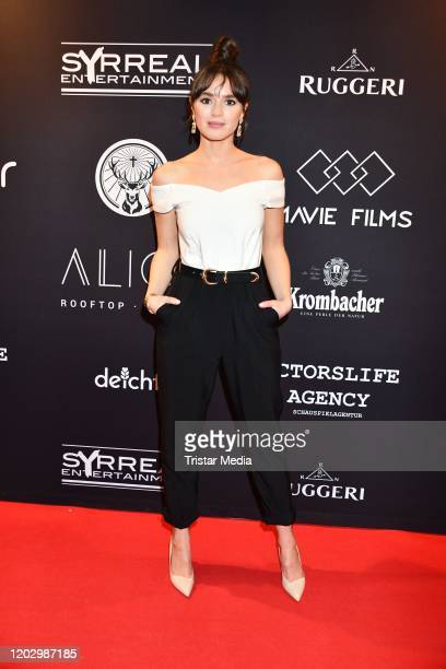 Xenia Assenza attends the Plot Point Party during the 70th Berlinale International Film Festival Berlin at Stilwerk on February 23, 2020 in Berlin,...