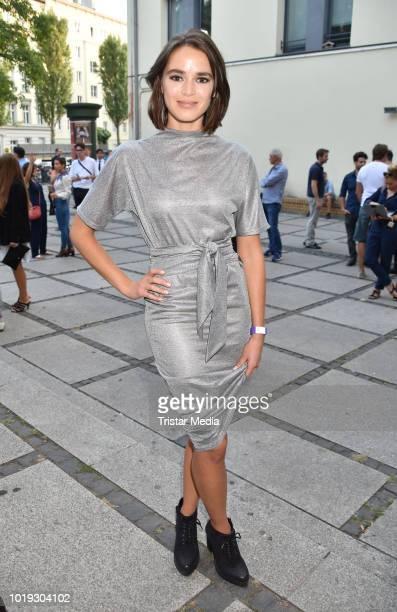 Xenia Assenza during the 'Schneefloeckchen' Premiere at Kino in der Kulturbrauerei on August 18, 2018 in Berlin, Germany.