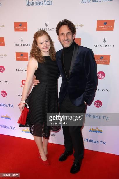 Xenia Kitzmann and FalkWilly Wild attend the Movie Meets Media event 2017 at Hotel Atlantic Kempinski on November 27 2017 in Hamburg Germany