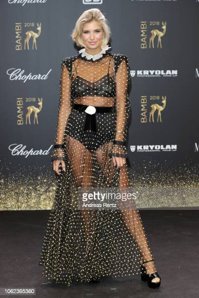 Xenia Overdose attends the 70th Bambi Awards at Stage Theater on November 16 2018 in Berlin Germany