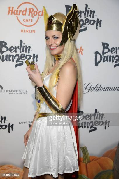 Xenia Prinzessin von Sachsen during the Halloween party by Natascha Ochsenknecht at Berlin Dungeon on October 23 2017 in Berlin Germany