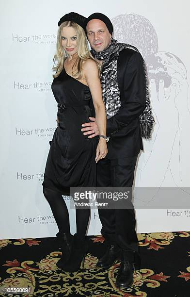 Xenia Seeberg and Sven KilthauLander attend the Hear the World Foundation Charity Gala at Ritz Carlton on October 16 2010 in Berlin Germany