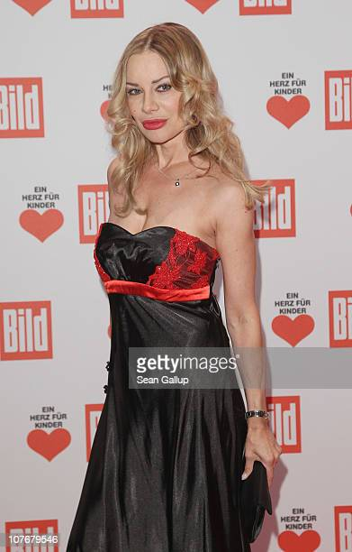 Xenia Seeberg attends the 'Ein Herz Fuer Kinder' charity gala at Axel Springer Haus on December 18 2010 in Berlin Germany