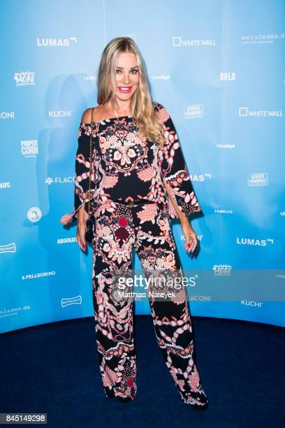 Xenia Seeberg attends the 'Gabo Fame' Exhibition Opening at HumboldBox on September 9 2017 in Berlin Germany