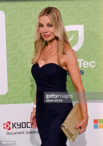 Xenia Seeberg genoss den Abend der GreenTec Awards 2015 im Velodrom Berlin am