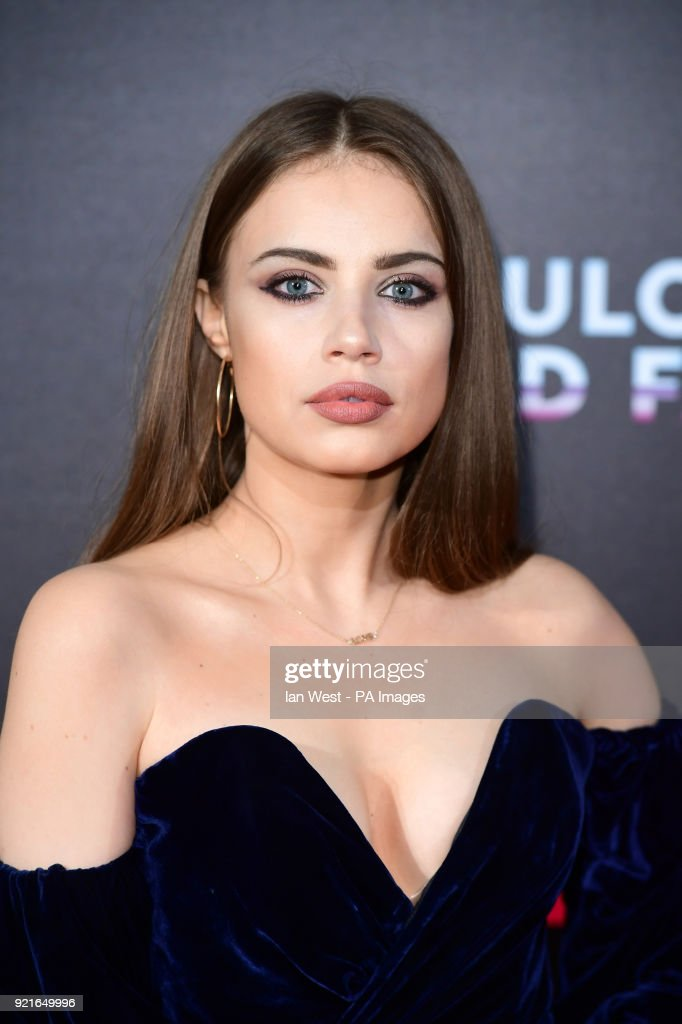 Xenia Tchoumi attending the Naked Heart Foundation Fabulous Fund Fair held at The Roundhouse in Chalk Farm, London. PRESS ASSOCIATION Photo. Picture date: Tuesday February 20, 2018. Photo credit should read: Ian West/PA Wire.