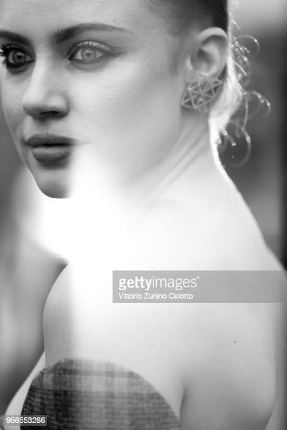 Xenia Tchoumitcheva attends the screening of 'Yomeddine' during the 71st annual Cannes Film Festival at on May 9 2018 in Cannes France