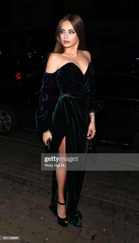 Celebrity Sightings - LFW February 2018 - Day 5 - February 20, 2018 : Foto di attualità