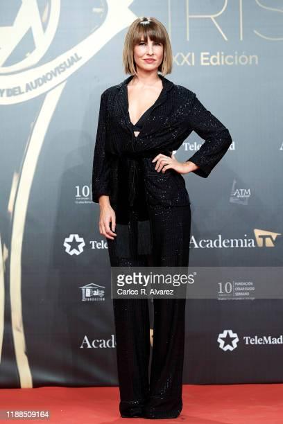 Xenia Tostado attends 'Iris Academia de Television' awards at Nuevo Teatro Alcala on November 18 2019 in Madrid Spain