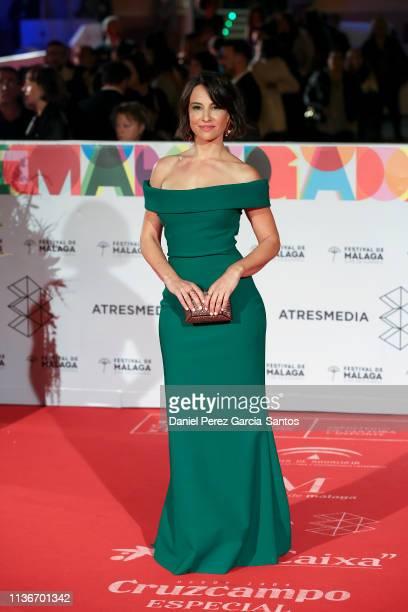 Xenia Tostado attends 'Litus' premiere during the 22th Malaga Film Festival on March 18 2019 in Malaga Spain