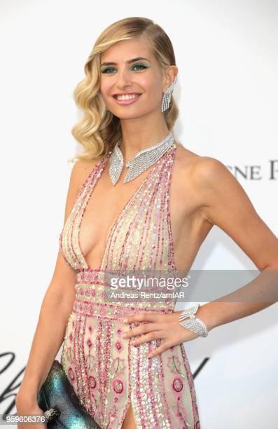 Xenia Van der Woodsen aka Xenia Overdose arrives at the amfAR Gala Cannes 2018 at Hotel du CapEdenRoc on May 17 2018 in Cap d'Antibes France