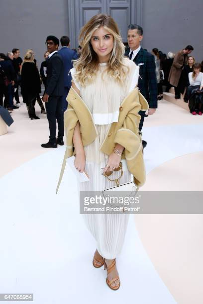 Xenia Van Der Woodsen attends the Chloe show as part of the Paris Fashion Week Womenswear Fall/Winter 2017/2018 on March 2 2017 in Paris France