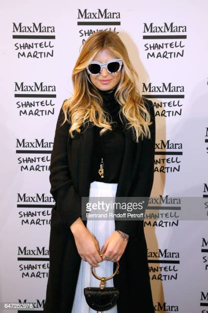 Xenia Van Der Woodsen attends the Max Mara 'Prism in Motion' Eventas with the presentation of the new collection Capsule of sunglasses Max Mara...