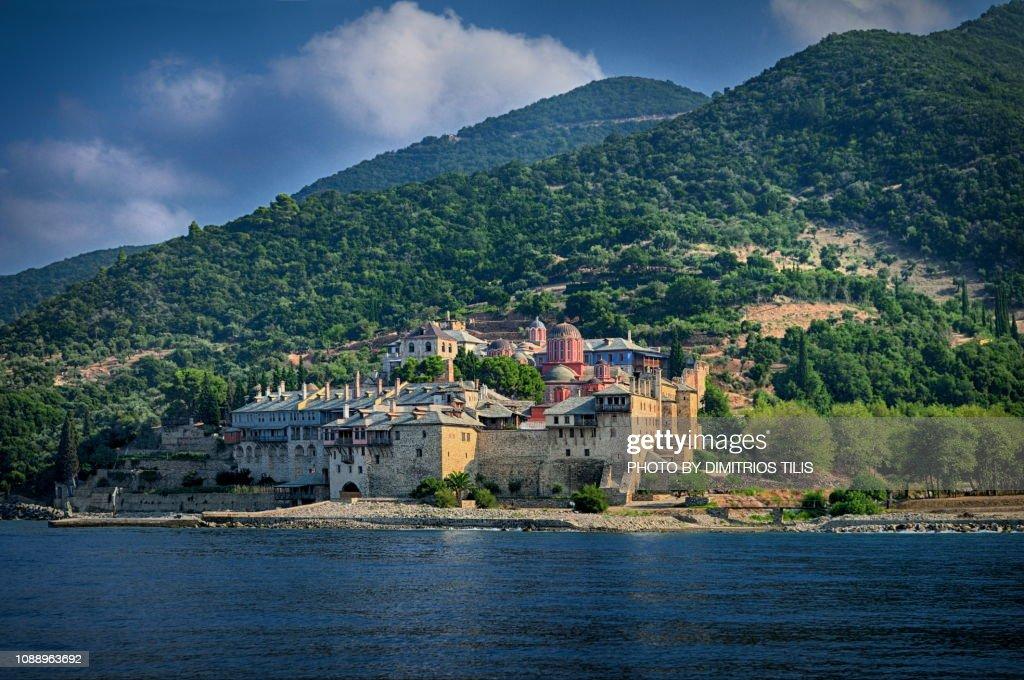 Xenofontos Monastery : Stock Photo