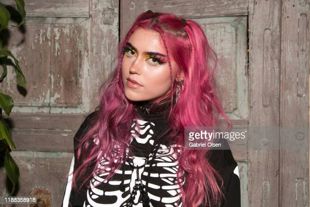 Xepher Wolf attends the MetaLife Launch Influencer Dinner at Bacari W 3rd on November 17 2019 in Los Angeles California