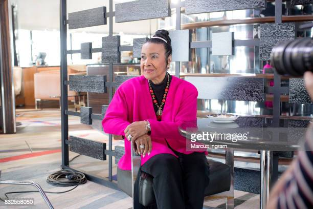 Xernona Clayton a civil rights leader who attended the 11th annual session of the Southern Christian Leadership Conference at Hyatt Regency Atlanta...