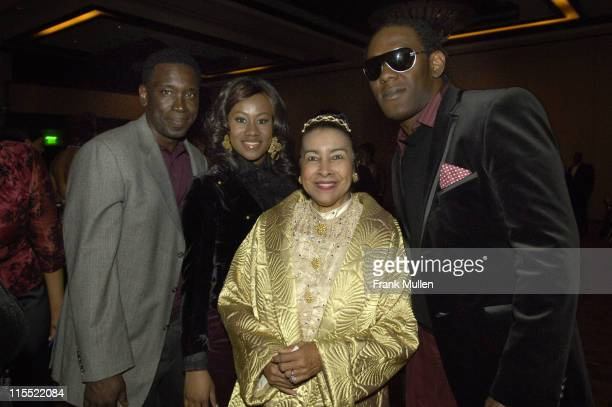 Xernona Clayton and Elvis White during 2006 Trumpet Awards After Party at Georgia World Congress Center in Atlanta Georgia United States