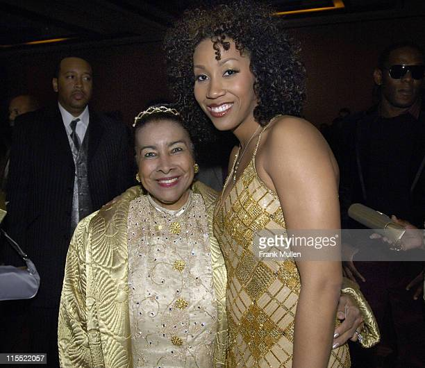 Xernona Clayton and Rissi Palmer during 2006 Trumpet Awards After Party at Georgia World Congress Center in Atlanta Georgia United States