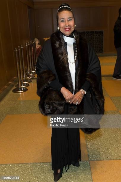 Xernona Clayton attends King in the wilderness New York Screening at Riverside Church