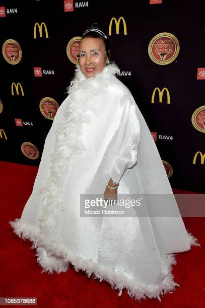 Xernona Clayton attends the 2019 Bounce Trumpet Awards on January 19 2019 in Atlanta Georgia