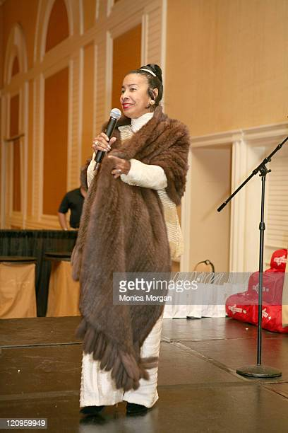 Xernona Clayton founder of The Trumpet Awards during 2007 Trumpet Awards Presents 'Black Cultural Explosion' at Bellagio Hotel in Las Vegas Nevada...