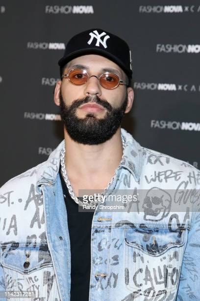 Xerxes Frechiani arrives as Fashion Nova Presents Party With Cardi at Hollywood Palladium on May 8 2019 in Los Angeles California