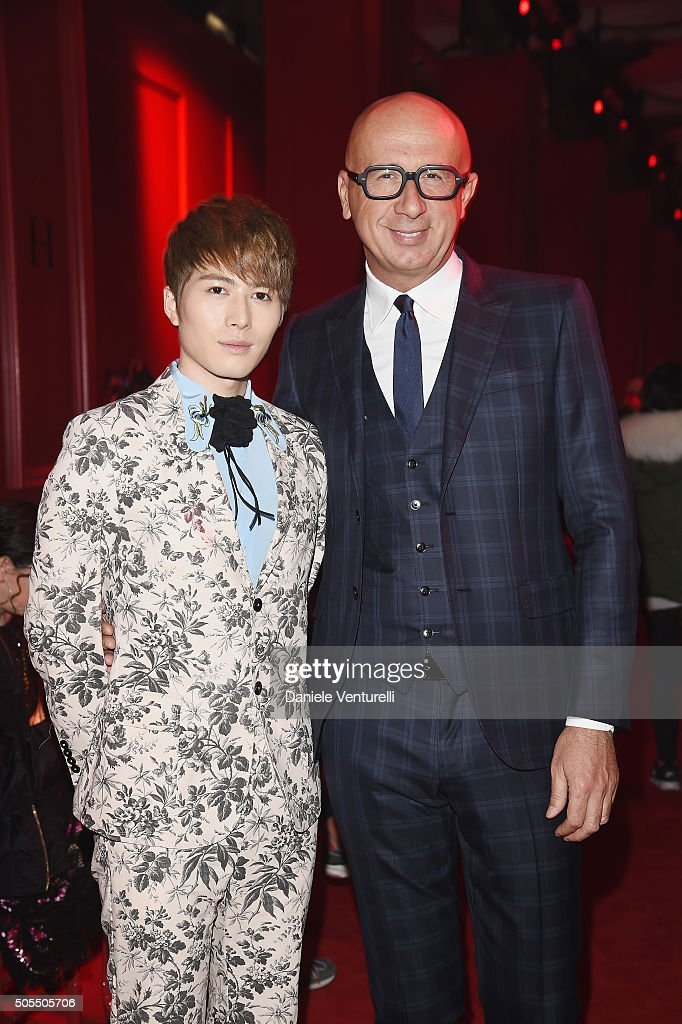 Gucci - Front Row - Milan Men\'s Fashion Week FW16 Photos and Images ...