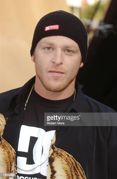 Games commentator Jason Ellis attends ESPN's Ultimate X movie premiere May 6, 2002 in Universal City, CA.