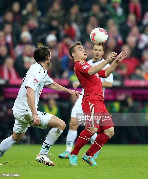 Xherdan Shaqiri FC Bayern München 1 Bundesliga Fussball FC Bayern München Hannover 96 50 Saison 2012 / 2013