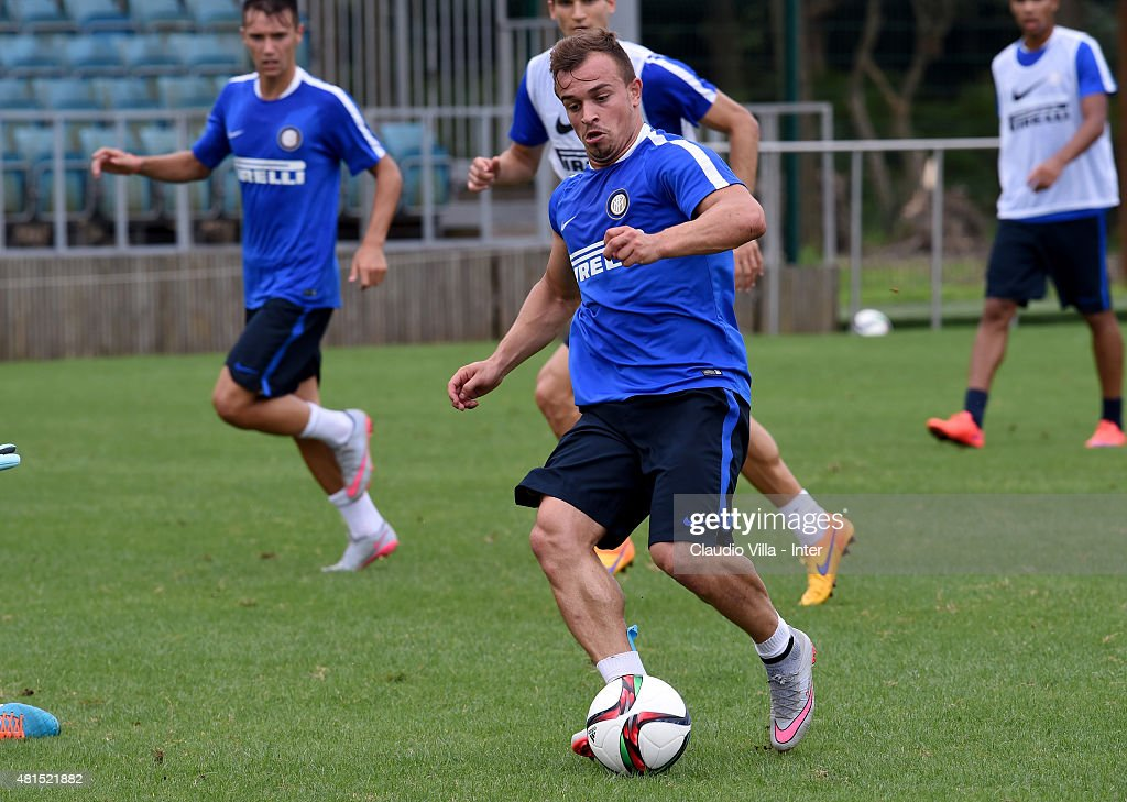 FC Internazionale Training Camp In China - Day Four : News Photo
