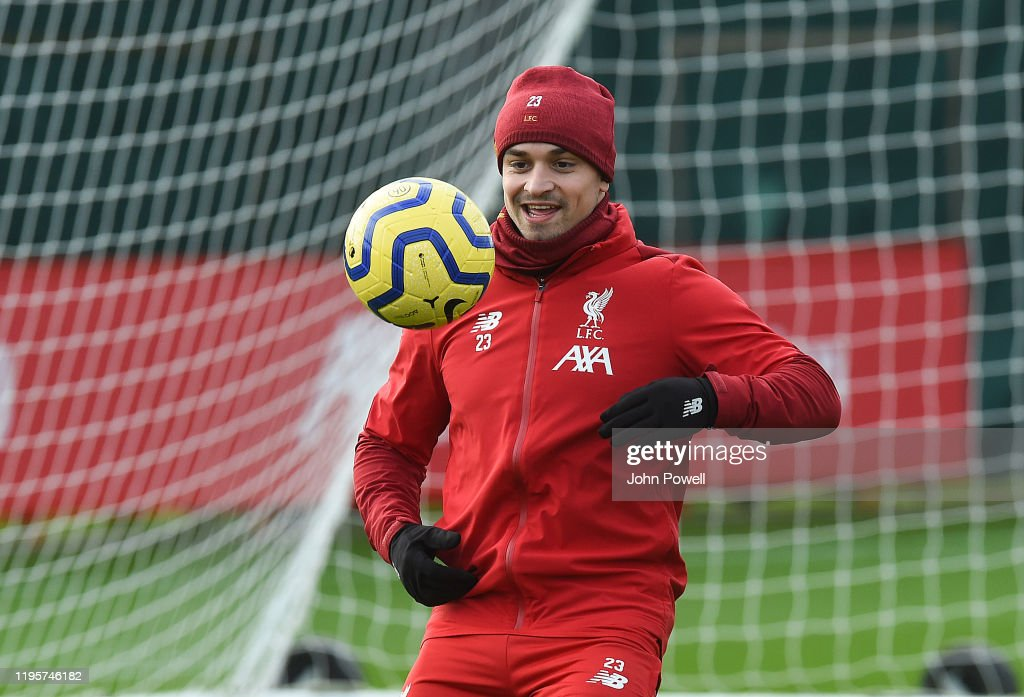 Liverpool FC Training : News Photo