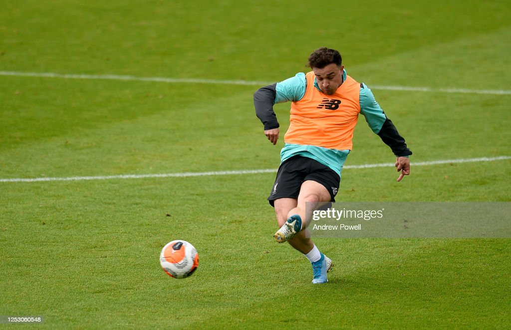 Liverpool Have Their First Training Session As Premier League Champions : News Photo