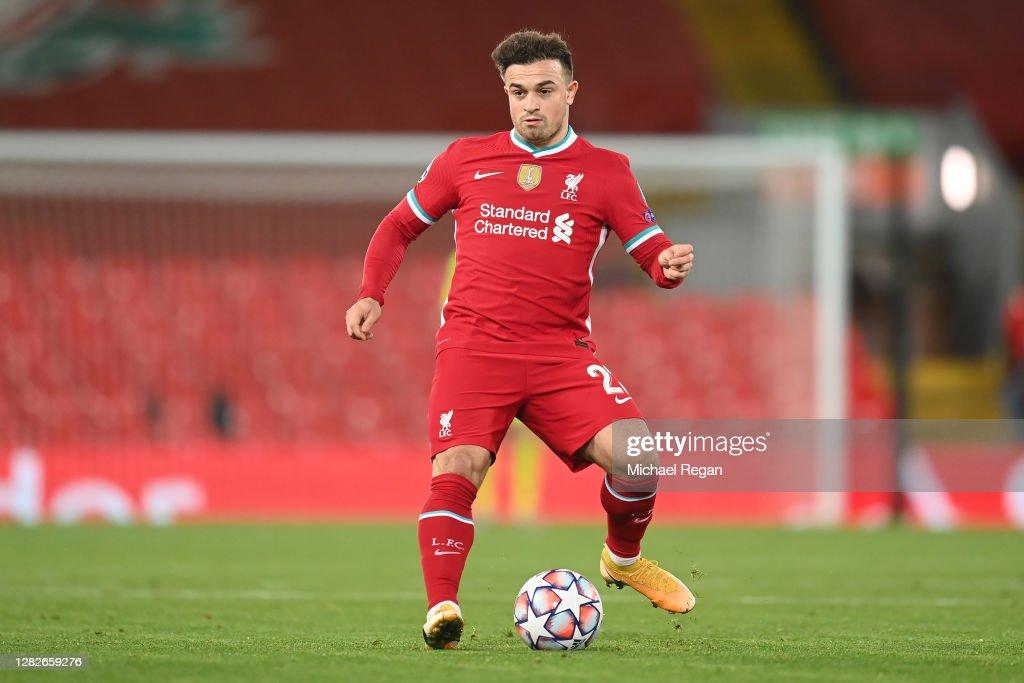 Liverpool FC v FC Midtjylland: Group D - UEFA Champions League : ニュース写真