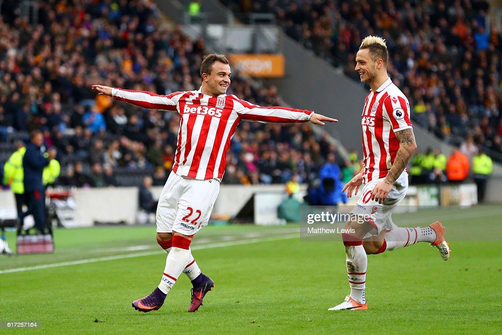 Hull City v Stoke City - Premier League : News Photo