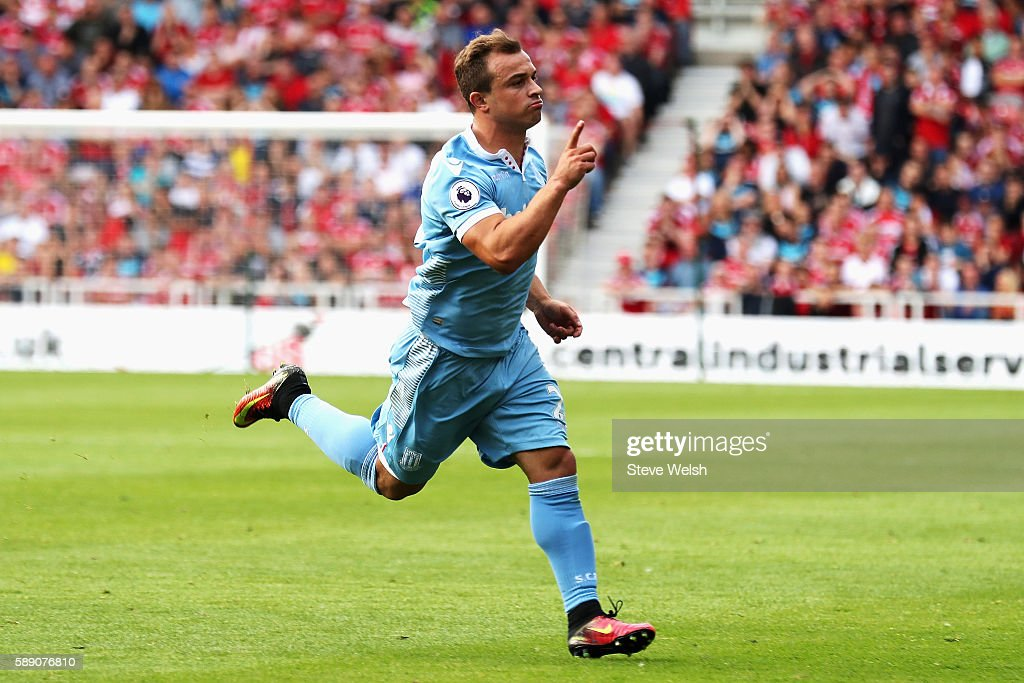 Middlesbrough v Stoke City - Premier League : News Photo