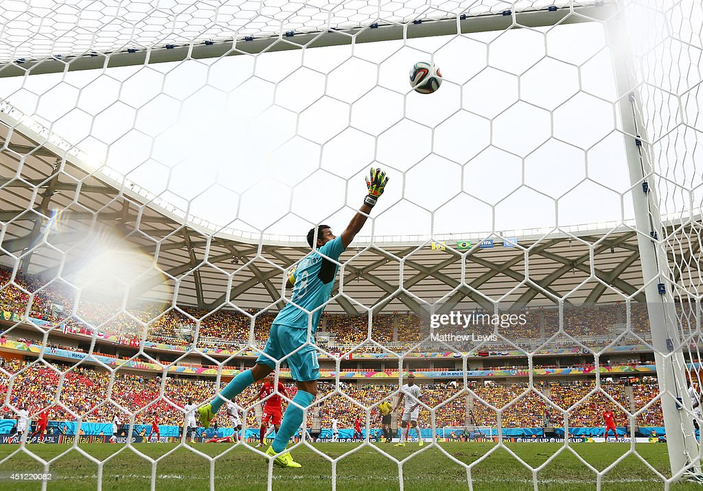 Honduras v Switzerland: Group E - 2014 FIFA World Cup Brazil : Nachrichtenfoto