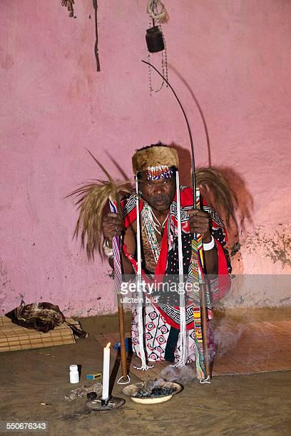 Xhosa Sangoma Medicine Man Wild Coast Eastern Cap South Africa