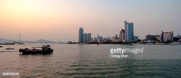 Xiamen in the dusk