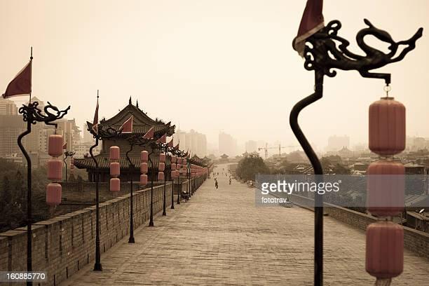 西安城壁、中国