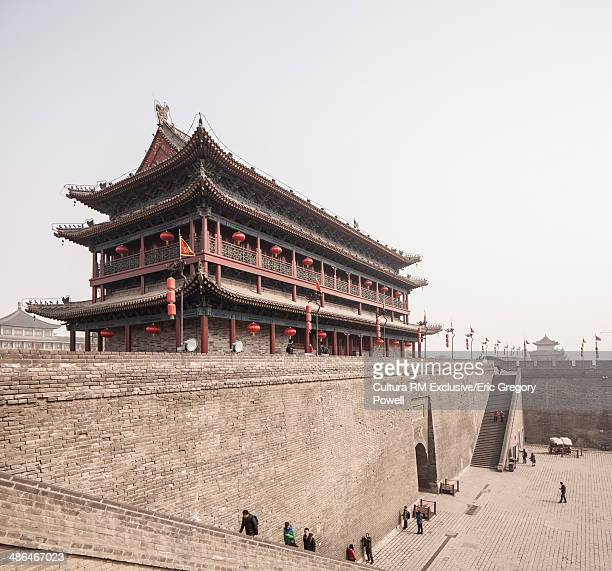Xi'an Old City Wall, South Gate in daytime