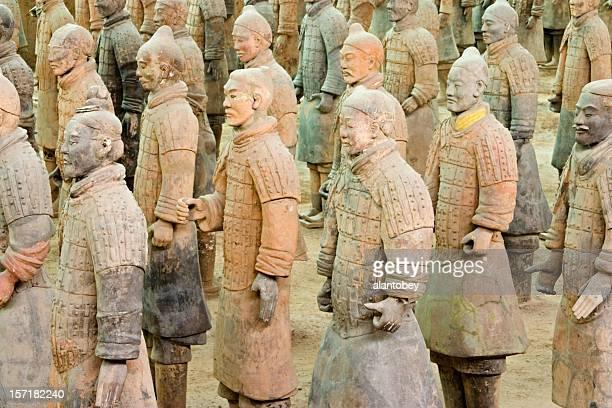Xian Tombeau des guerriers de terre cuite