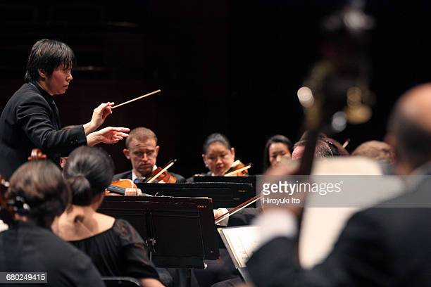 Xian Zhang makes debuts as the music director of New Jersey Symphony Orchestra in allTchaikovsky program at New Jersey Performing Arts Center in...