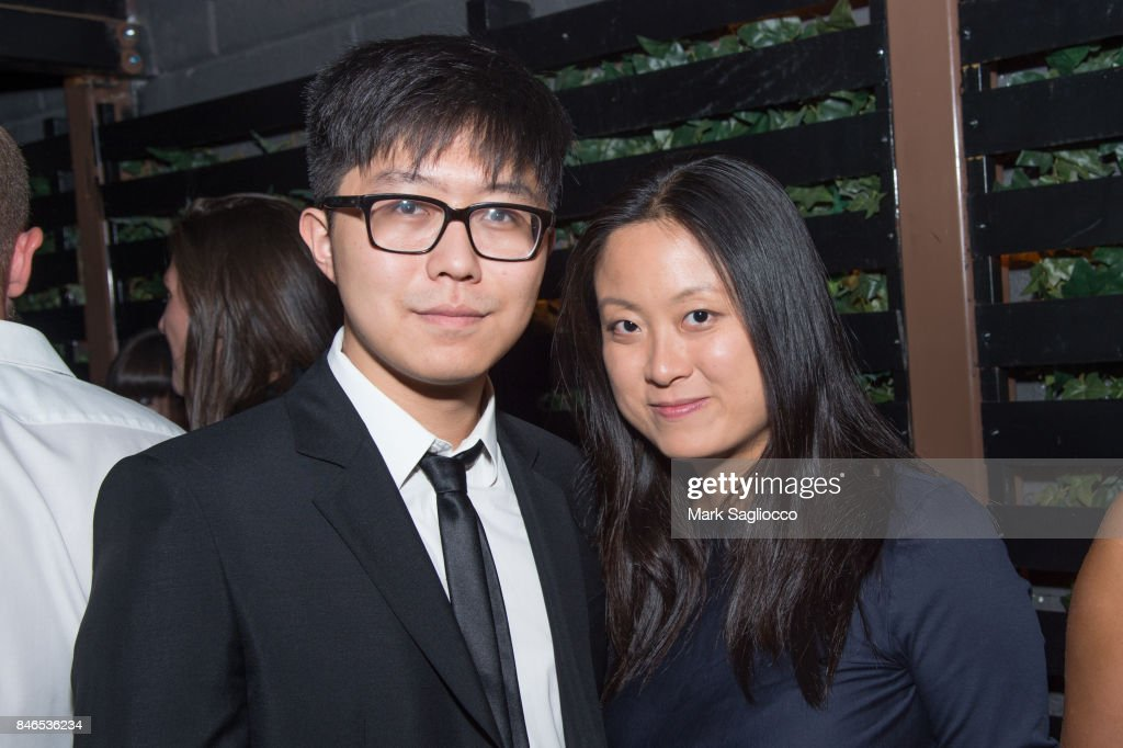 Xiaodi Jiang and Lulu Zhou attend Hamptons Magazine's Celebration with Cover Star Maria Sharapova at PHD Terrace at Dream Midtown on September 12, 2017 in New York City.